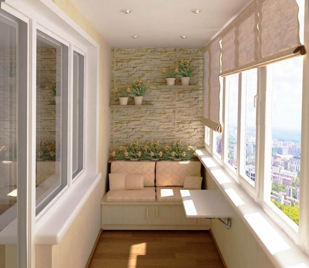 Балкон идеи отделки