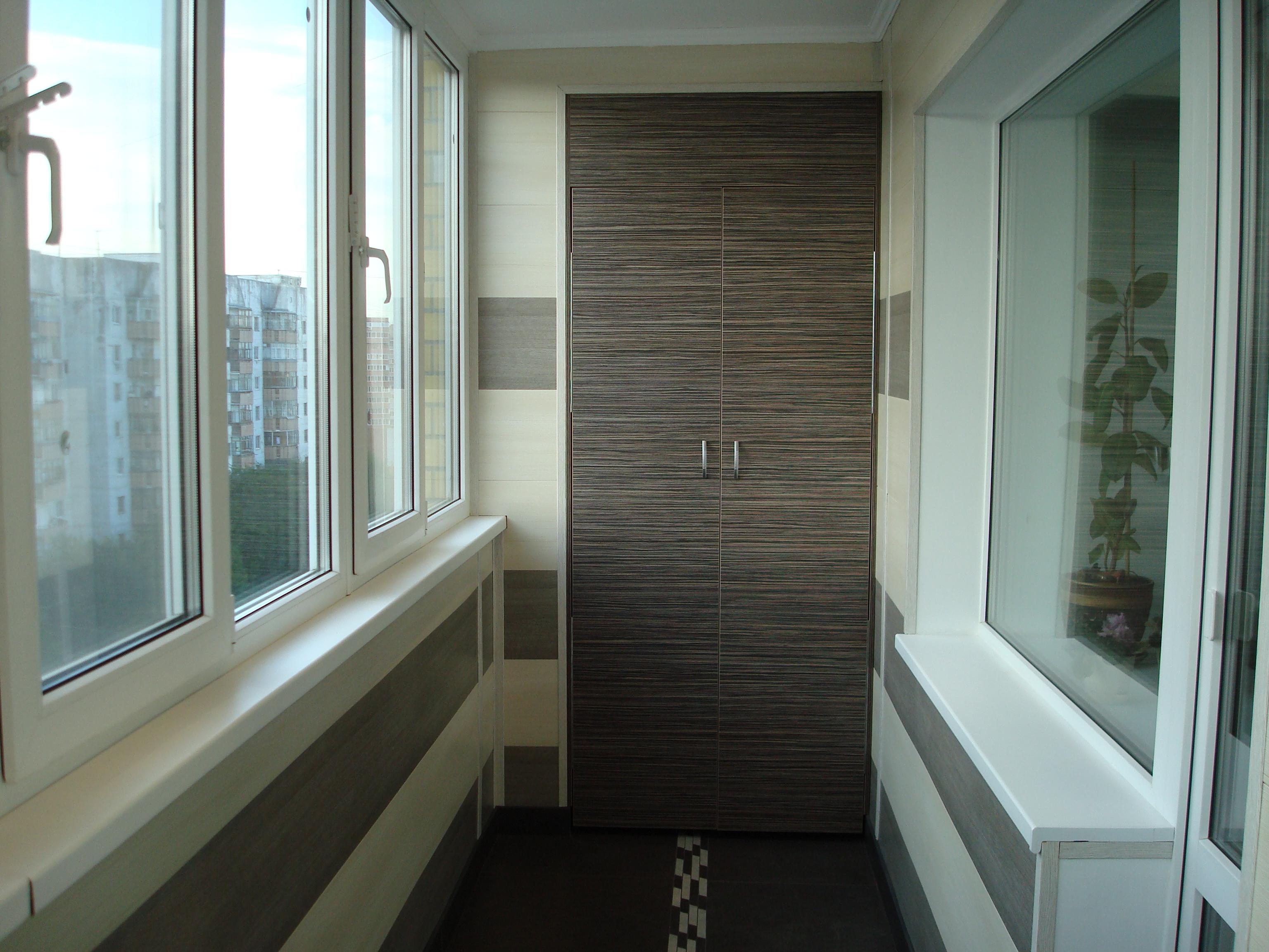 Окна в доме - отделка балконов и лоджий.