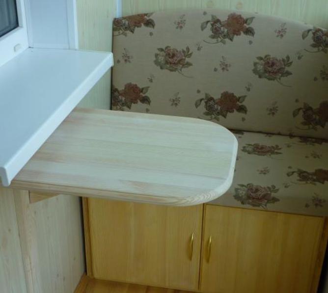 Сделать мебель своими руками для балкона