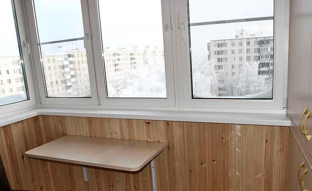 Купить раскладной стол на балкон полный комплект столик на л.
