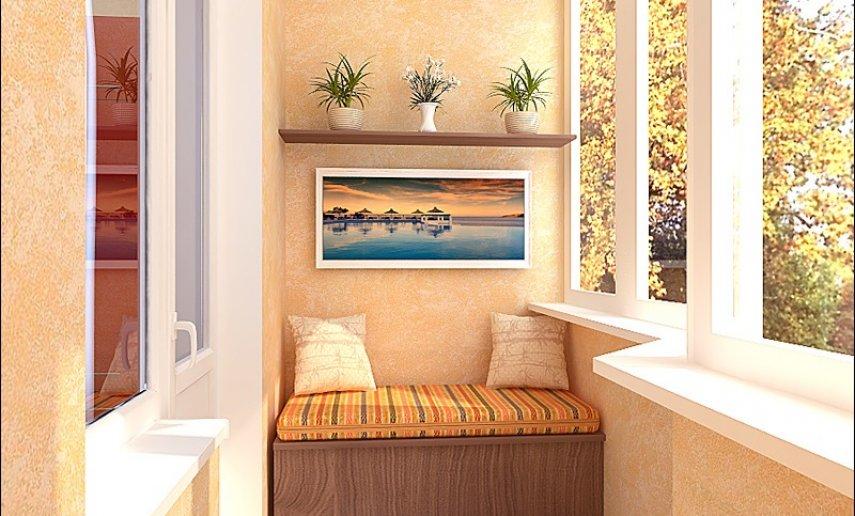 Обустройство балкона в квартире цены и фото.