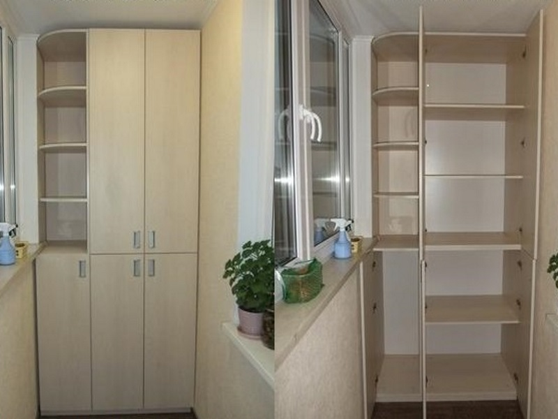Встроенный шкаф на лоджию встроенные шкафы на лоджию на зака.